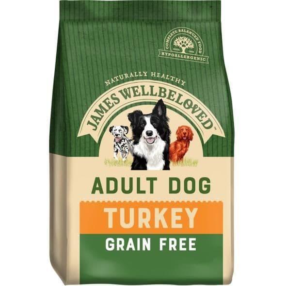 J/w adult turkey grain free